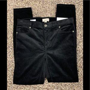 Loft modern Skinny fit size 6 fine corduroy pants